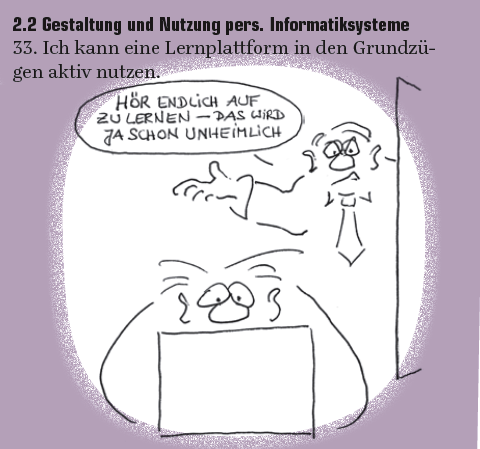 Digitale Kompetenzen Cartoons by Roth image