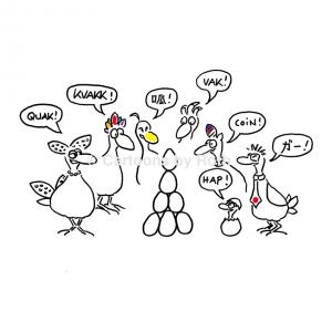 Ethnic Diversity Cartoon product image