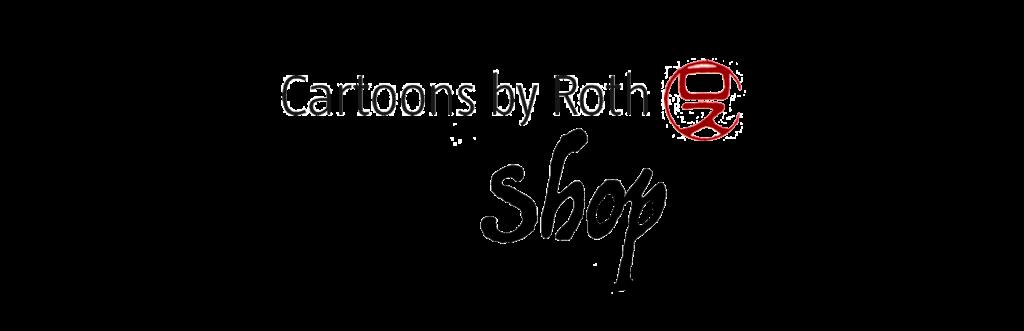 Cartoons by Roth Shop Logo