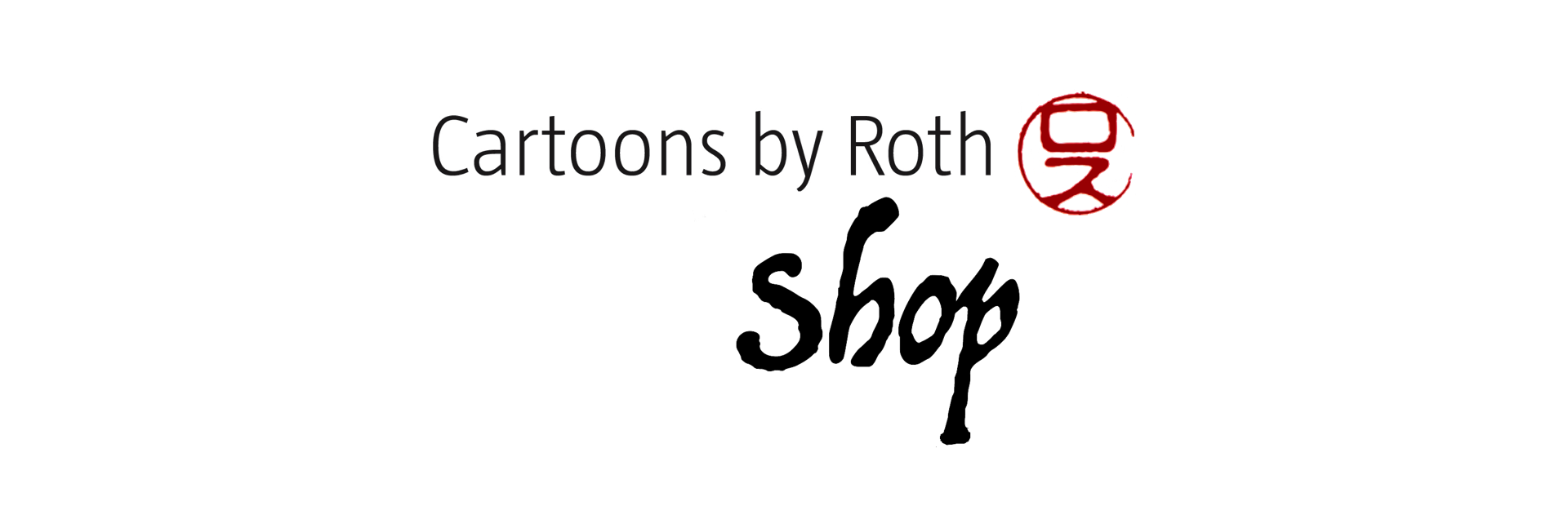 Cartoons by Roth Shop Logo