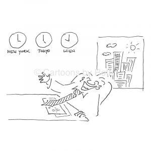 Wenn der CFO lacht Cartoon Produktbild