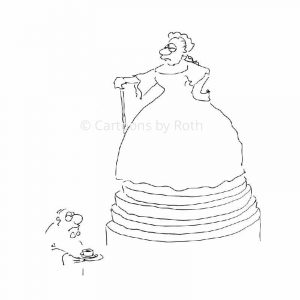 Kaffee Cartoon Maria Theresia Produktbild