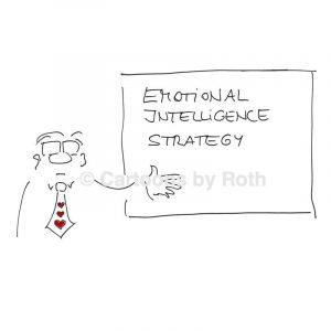 Cartoon Emotionale Intelligenz Produktbild