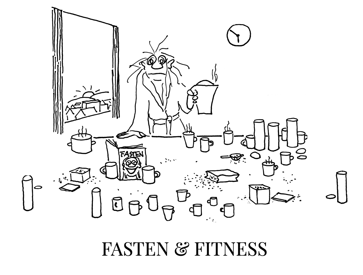 Cartoons by Roth Shop-Cover-C-Fasten-Fitness