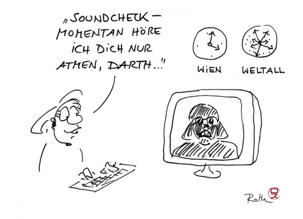 Webinar cartoon Cartoons by roth