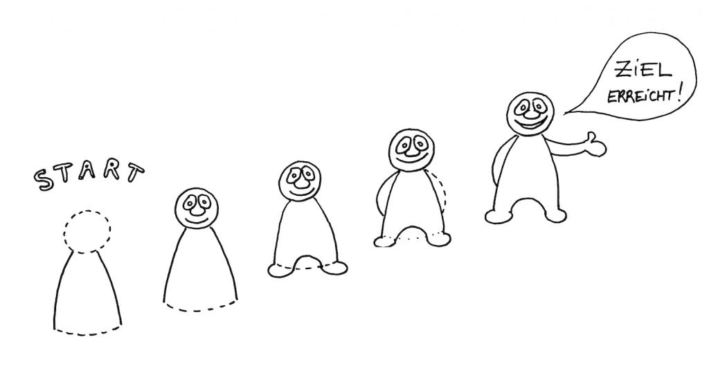 Eine erste Comic-Figuren selber zeichnen Image