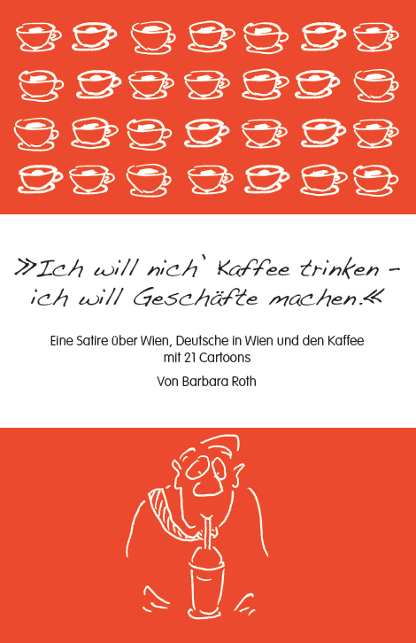 Wiener Kaffee Satire mit Cartoons Shopbild