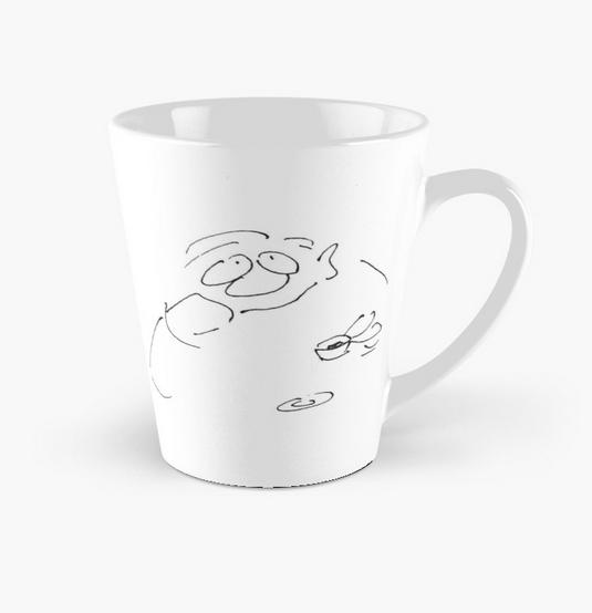Cartoons by Roth Collection Kaffeetasse Der Genießer (konisch)