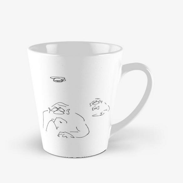 Wiener Kaffee Spezialitäten Tasse Kaffee verkehrt image
