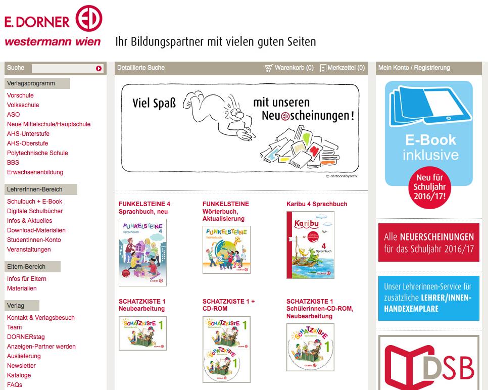 Web Teaser DORNER Verlag Cartoons by Roth image