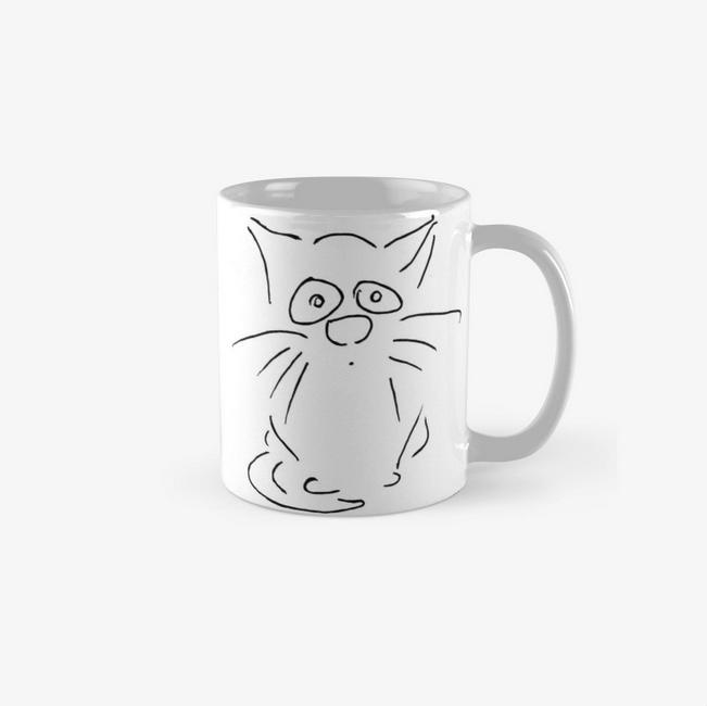 Kaffeebecher Katzen Design Cat coffe mug