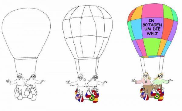 Cartoon Blog Artikel Wie meine Business Cartoons entstehen