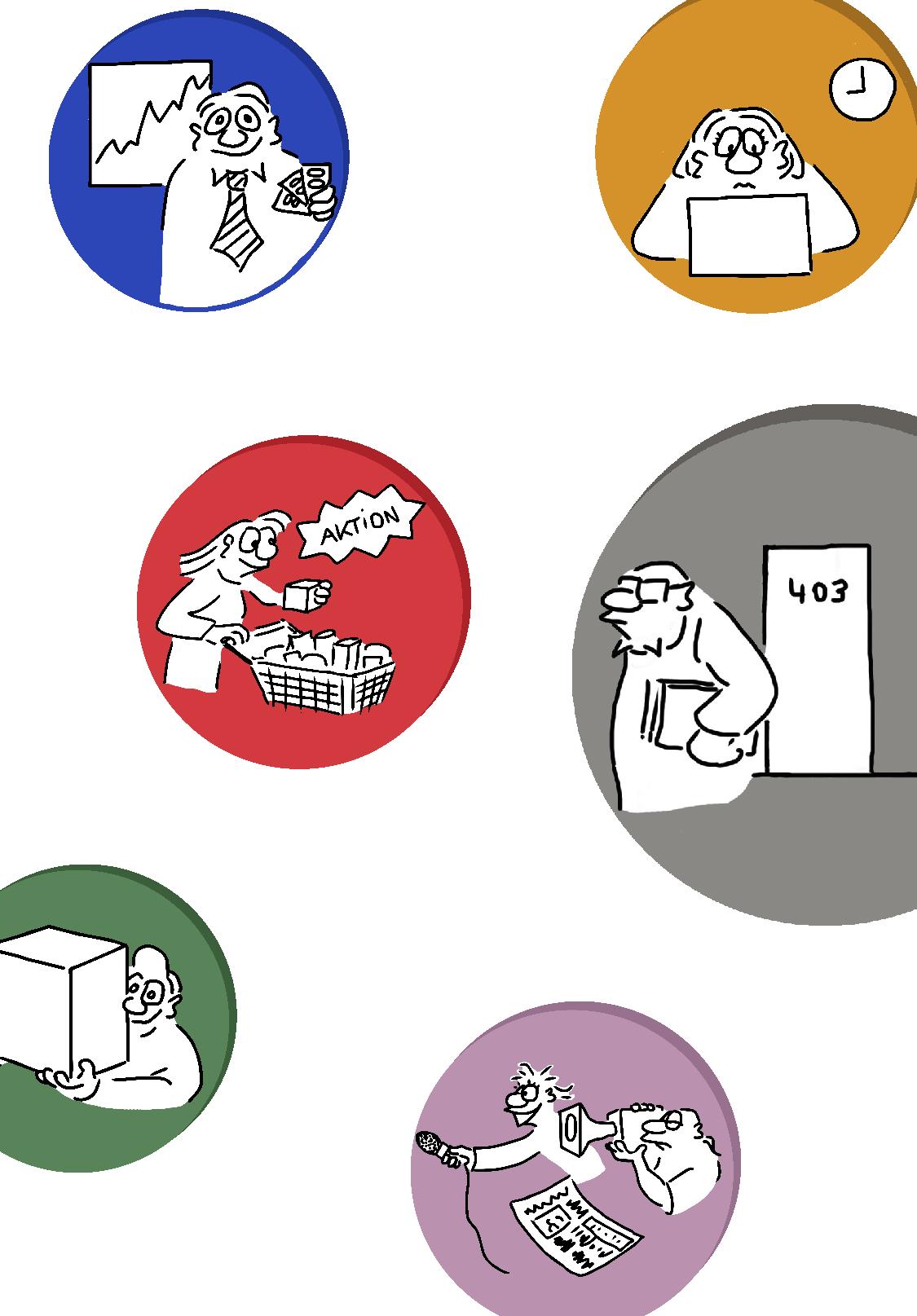 CSR Cartoons Icons Image 1