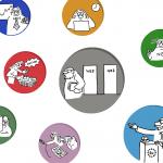 CSR Cartoons Icons image Bild