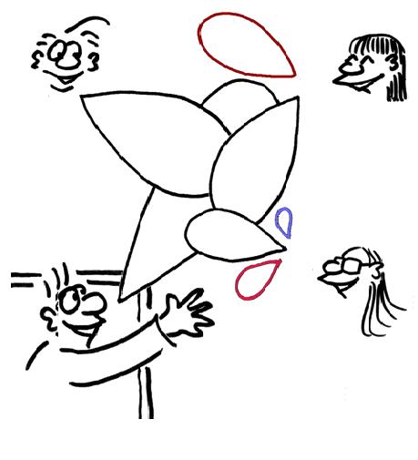 Online Konferenz DaFWEBKON image cartoon bild 2