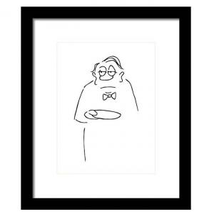 Hallo Herr Ober Kunstdruck Produktbild