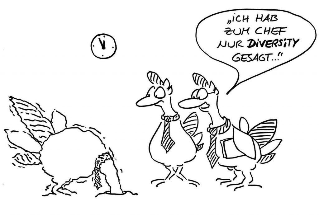 Diversity Cartoons Blogartikel Header