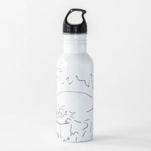Trinkflasche Der perfekte Urlaub Cartoon Shop Produkt Bild