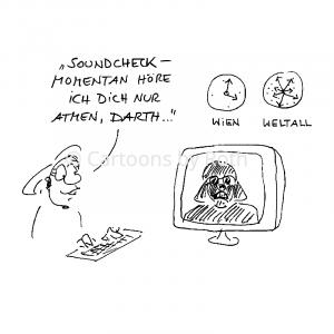 Darth Vader Cartoon Online Shop Image Bild