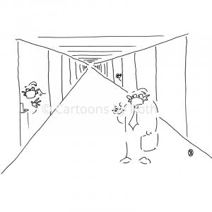 Digitalisierung Cartoons