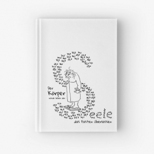 Notizbuch Körper und Seele Cartoon Shop Produktbild