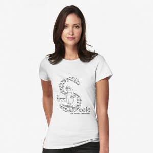 T-Shirt Körper und Seele Cartoon Shop Produktbild