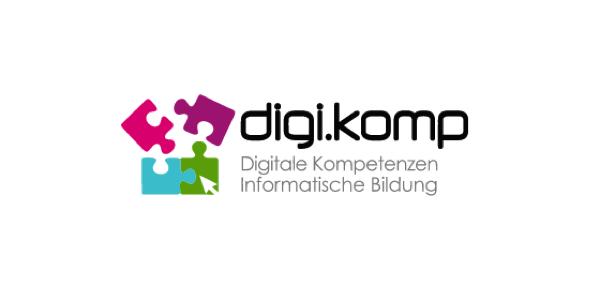 Logo digikomp Digitale Kompetenzen