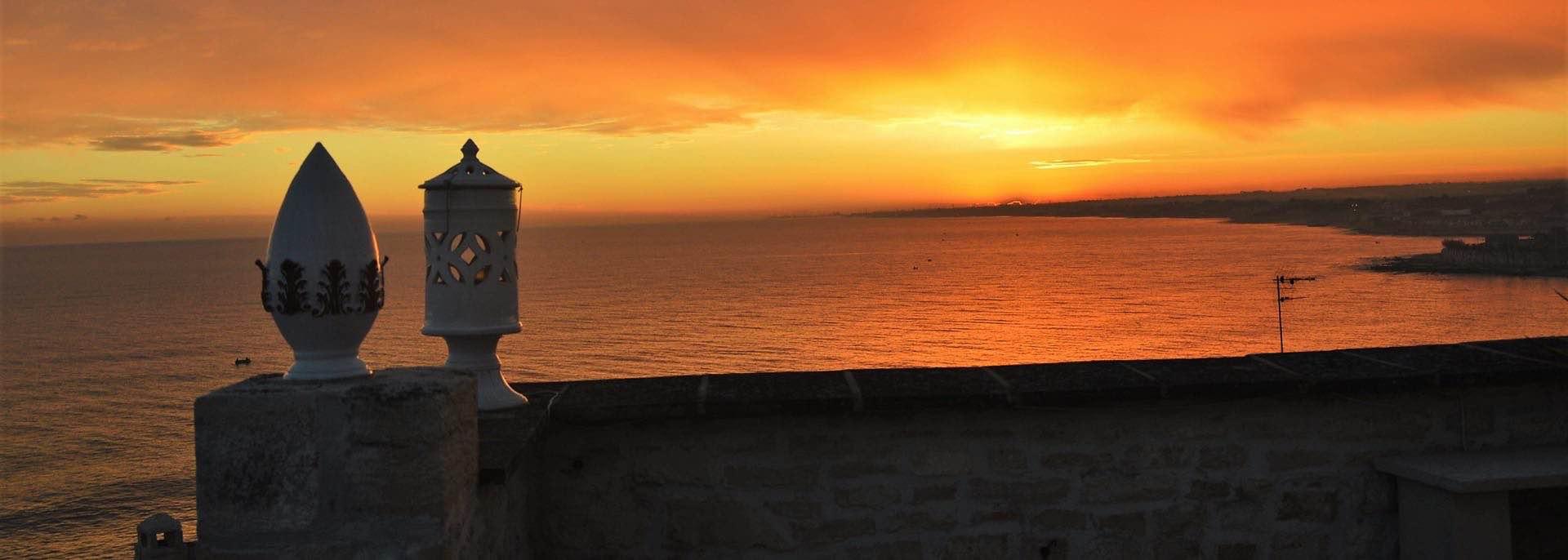 Masterclass in Apulien Blick vom Dach des Hotels