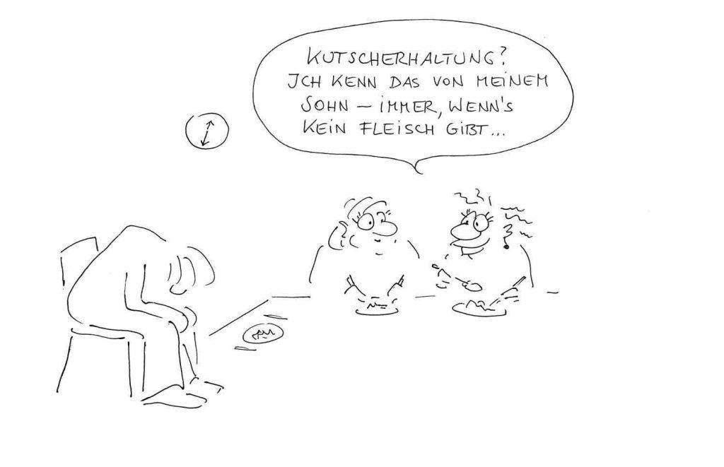 Betriebliches Gesundheitsmanagement Cartoon WKO Blog Image