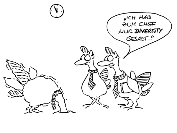 Diversity Management Cartoon