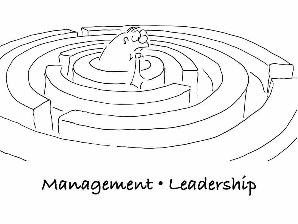 Cartoon Leadership Online Shop Startseite
