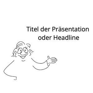 Comicfiguren für Präsentationen