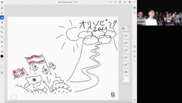 Virtuelle Events Virtual Scribing Tokyo