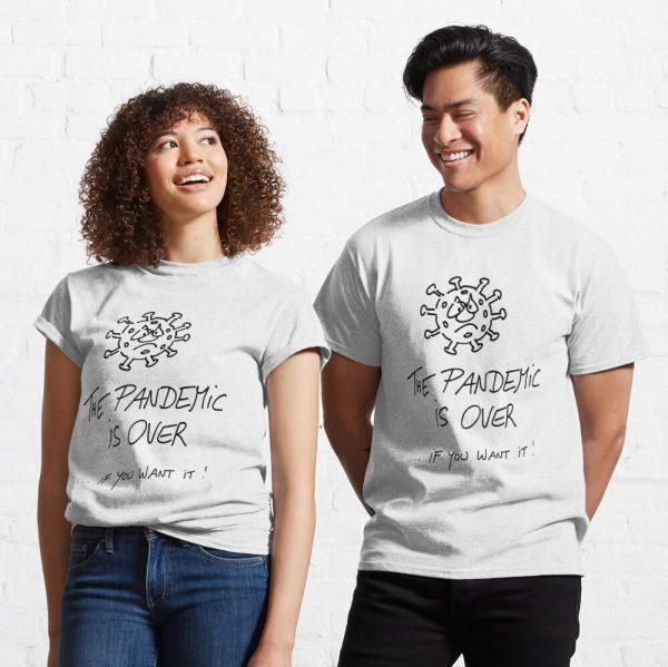 T-Shirt Pandemie ist vorbei Produktbild