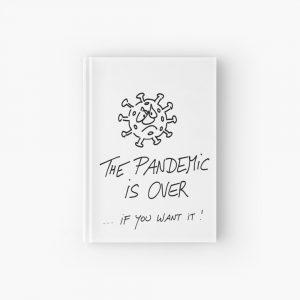 Notizbuch Pandemie vorbei