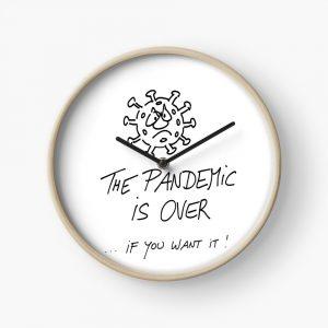 Uhr Pandemie ist vorbei Produktbild